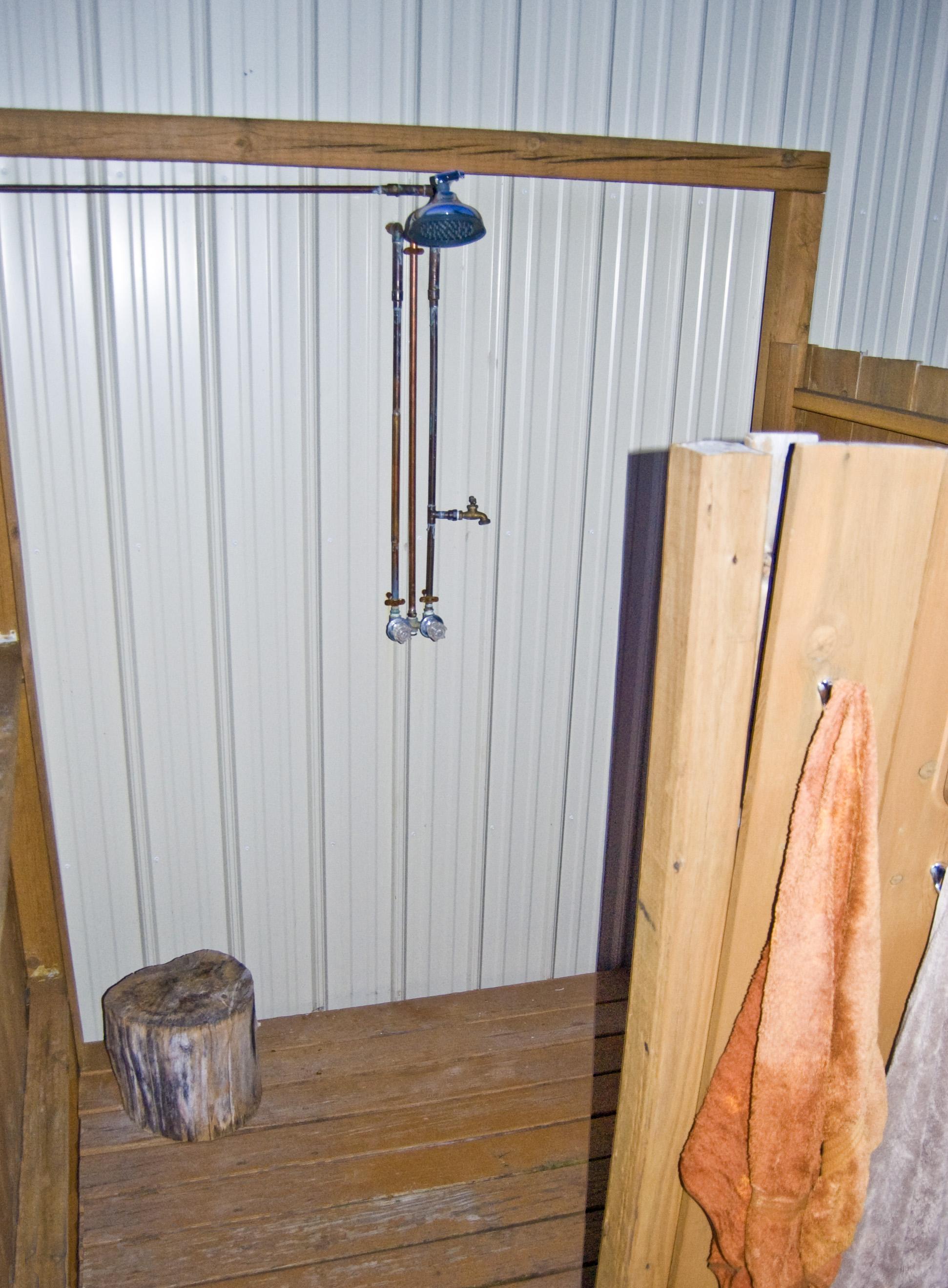 Mauledbydesign  Outdoor Shower Curtain